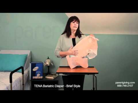 Tena Bariatric Diaper Brief Style - SCT61375