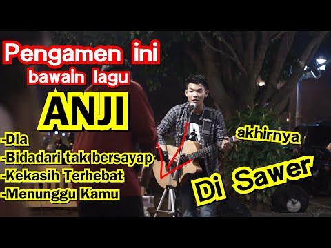 Download BAWAIN LAGU ANJI - PENGAMEN INI DI SAWER | PENDOPO LAWAS ALUN-ALUN UTARA JOGJA Mp4 baru