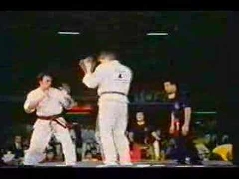 Dolph Lundgren Kyokushin Karate Tournament 1979 Image 1
