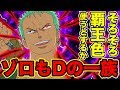 【ワンピース】ゾロもDの一族で本名はロロノア・D・ゾロ!?