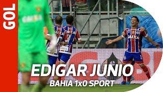 Gol de Edigar Junio - Bahia 1x0 Sport