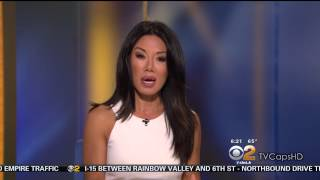 Sharon Tay 2015/07/28 CBS2 Los Angeles HD