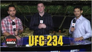 Whittaker vs. Gastelum, Silva vs. Adesanya preview | UFC 234 | ESPN MMA