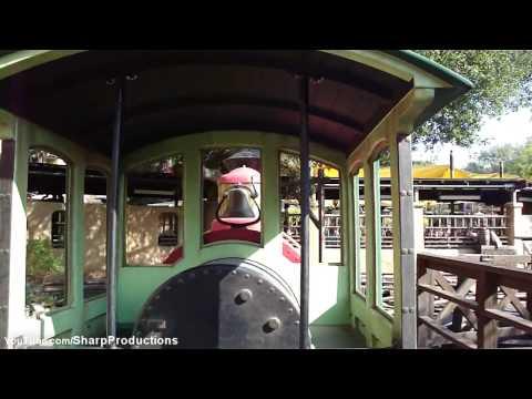 Thunder Mountain Railroad (HD POV) Disneyland