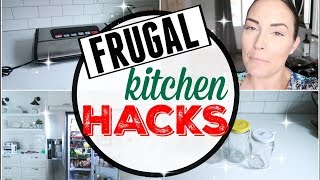MORE FRUGAL KITCHEN HACKS ● HOW TO SAVE MONEY + TIME FAST ●  AVALON BAY FOODSEALER300S VACUUM SEALER