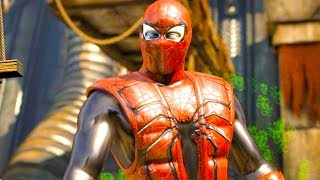 Mortal Kombat XL - All Klassic Fatalities on Iron Spider Ermac Costume Mod 4K Ultra HD Gameplay Mods