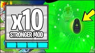 INSANELY FAST GREEN CIRCLE!! x10 TIER MONKEY SUBMARINE | Bloons TD Battles Hack/Mod (BTD Battles)