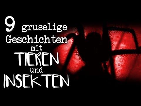 9 Horrorgeschichten über TIERE und INSEKTEN | German Creepypasta Compilation Deutsch