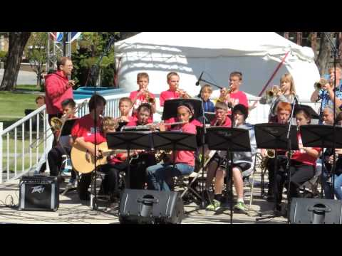 Clovis Point Intermediate School Jazz Band - Bigfoot