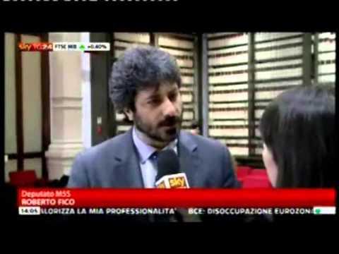 """M5S, """"La Cosa"""" e Beppe Grillo a SkyTg24   11 aprile 2013"""