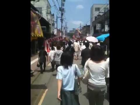 山代温泉・「 菖蒲湯祭パレード2010」