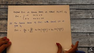 FOURIER SERIES FOR PERIODIC FUNCTION 2L    EXAMPLE 4    AEM    6   
