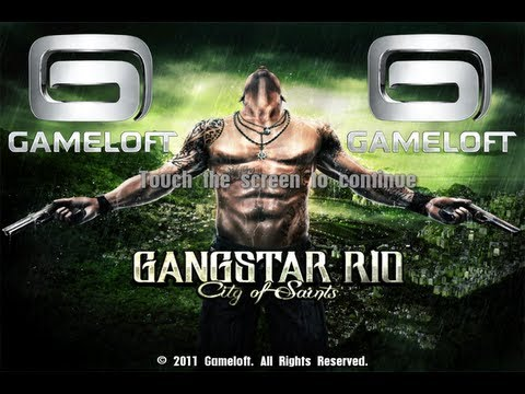 Gangstar Rio: City of Saints GAMEPLAY iPhone. iPod Touch and iPad