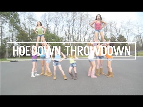 Hoedown Throwdown video