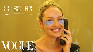 How Top Model Candice Swanepoel Gets Runway Ready | Diary of a Model | Vogue