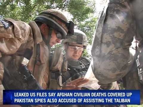 Outrage over huge leak of Afghan war files