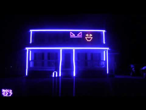 Halloween Light Show- Call Me Maybe Music Videos