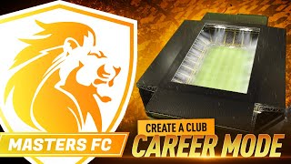 OUR BRAND NEW STADIUM!!! CREATE A CLUB CAREER MODE #34
