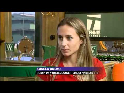2009 Wimbledon Gisela Dulko Interview