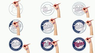 Fast Drawing And Coloring For Toddlers - MLB Minnesota Twins - Puzzle Kid