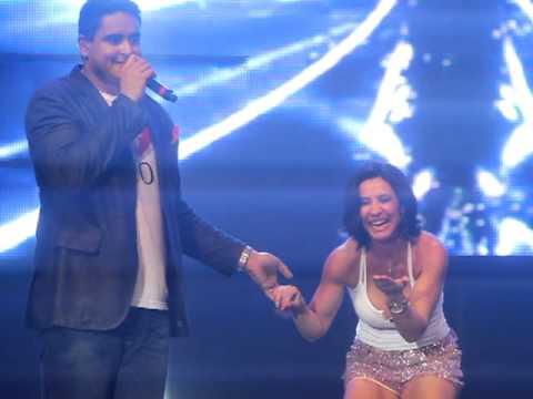 Sheila Carvalho e Jacare no Ensaio do Harmonia no Rio