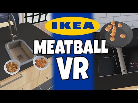 HTC VIVE - IKEA Meatball VR - Mid Life Crisis