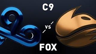 C9 vs FOX - LCS Week 4 Day 1 Match Highlights (Spring 2019)