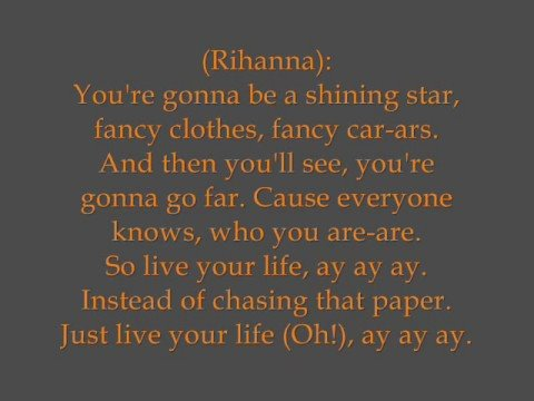 T.i. Feat. Rihanna - Live Your Life (hq   Lyrics) video