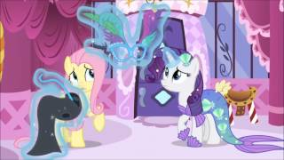 Rarity finding a costume for Fluttershy (full scene)