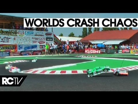 Greatest RC Touring Car Crash Ever! - IFMAR 1/10th World champs A final leg 2 -RC Racing TV Race