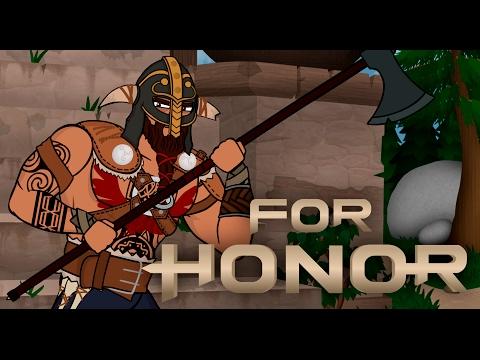 Мультфильм For Honor [в русской озвучке от PlayGround]