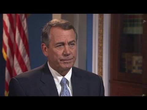 John Boehner backs Donald Trump