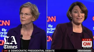 Warren comes under repeated attack from her rivals during Democratic debate