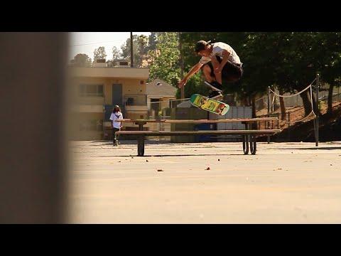 Danny Hamaguchi - Nollie 360 Flip Picnic Table Attempts