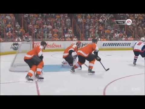 NHL 15 - Philadelphia Flyers vs Washington Capitals Gameplay [HD]