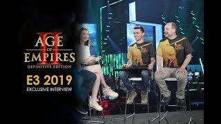 Age of Empires II: Definitive Edition - E3 2019 Mixer Interview