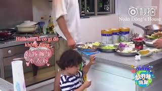[Vietsub] Baby let me go mùa 3: Trần Học Đông lừa Hào Hào ăn sầu riêng