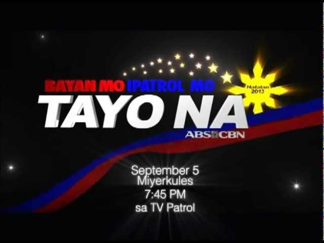 Bayan  Mo Ipatrol Mo Music Video, bukas sa TV Patrol