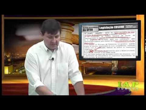 Questões comentadas Legislação EBSERH - IAP Cursos Online