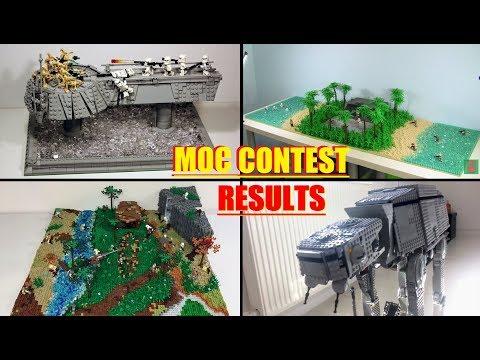 LEGO MOC CONTEST RESULTS 2017!!! LEGO STAR WARS EPIC MOCS