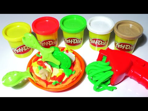 Play doh cookie monster letter lunch cooks pizza in its for Play doh cuisine