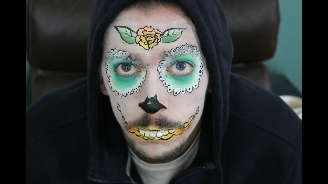 Half face painting ideas