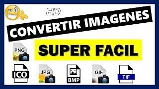 Convertir imágenes a cualquier formato (ico, jpg, png, gif)