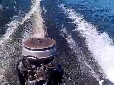 как смазывать лодочный мотор видео