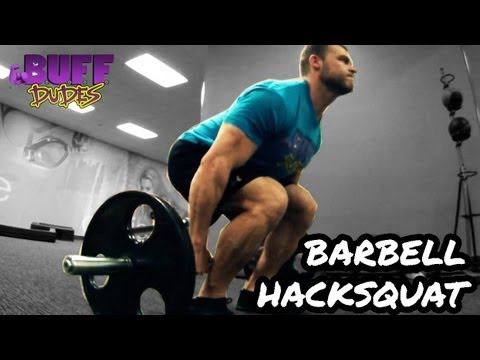 How to Perform Barbell Hack Squats - Big Quads Exercise ...