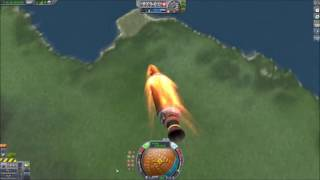 KSP: Orbital nuclear missiles