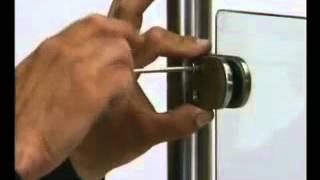 installazione pinze vetro