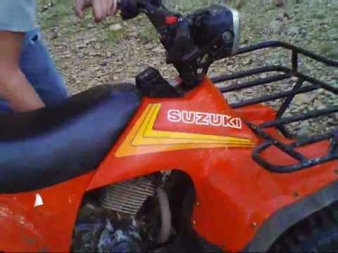 Suzuki 185 Quad Runner Fun In The Mud