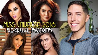 MISS UNIVERSE 2018: PRE-ARRIVAL FAVORITES | Anthony M Gomes