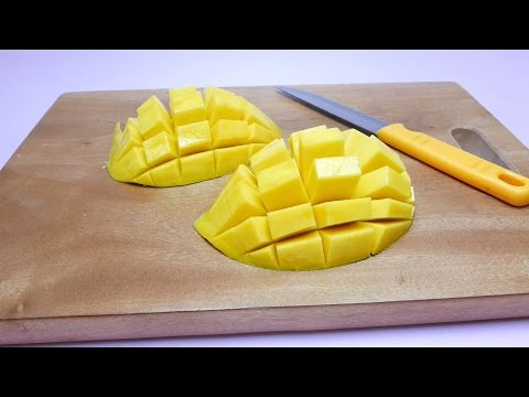 How to make a Mango Hedgehog - DIY